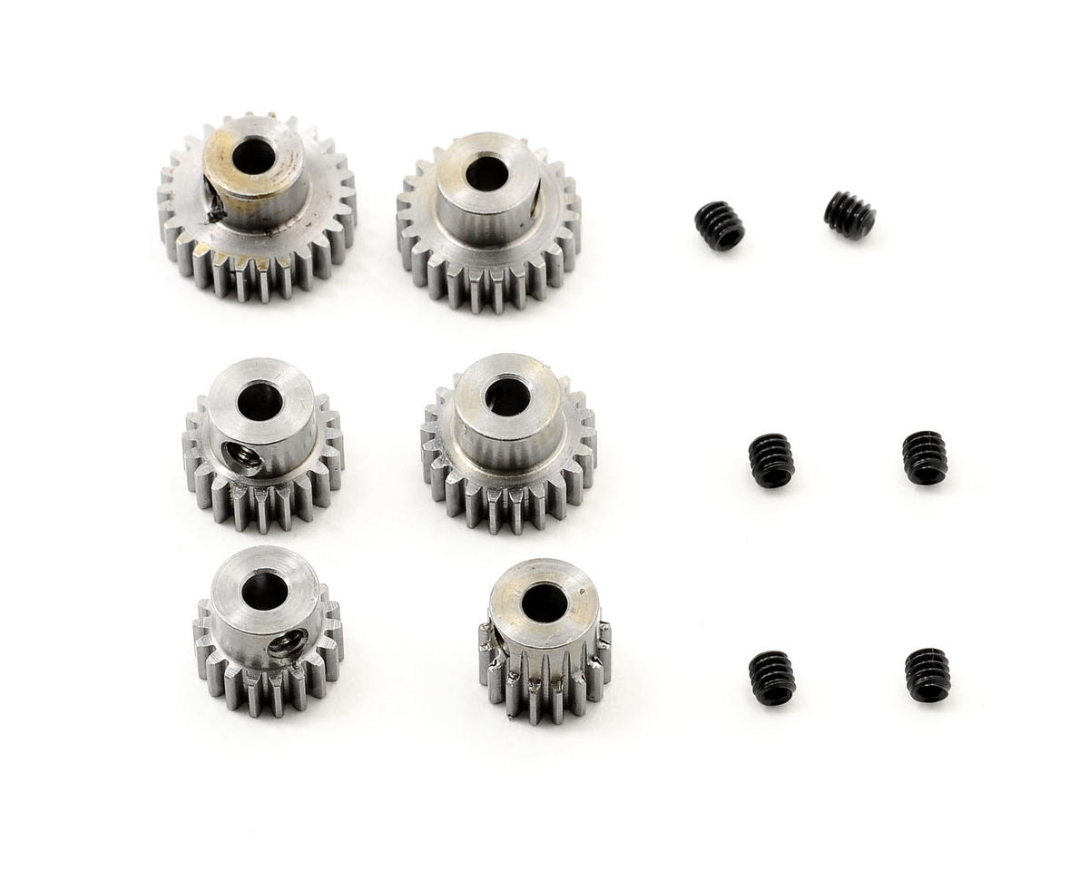 """Six Pack"" 48P Even Pinion Pack (16,18,20,22,24,26T) by Robinson Racing"