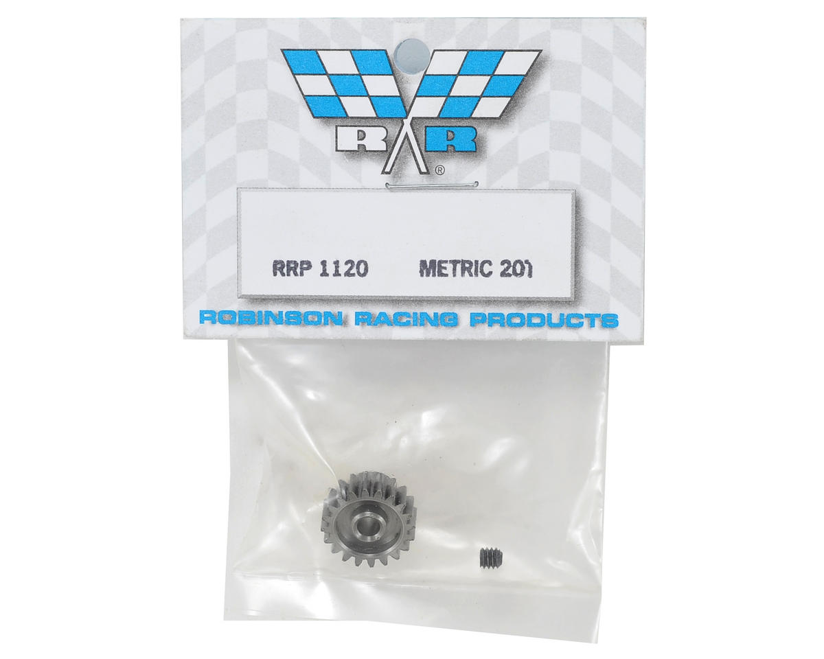 Robinson Racing Mod 0.6 Metric Pinion Gear (20T)