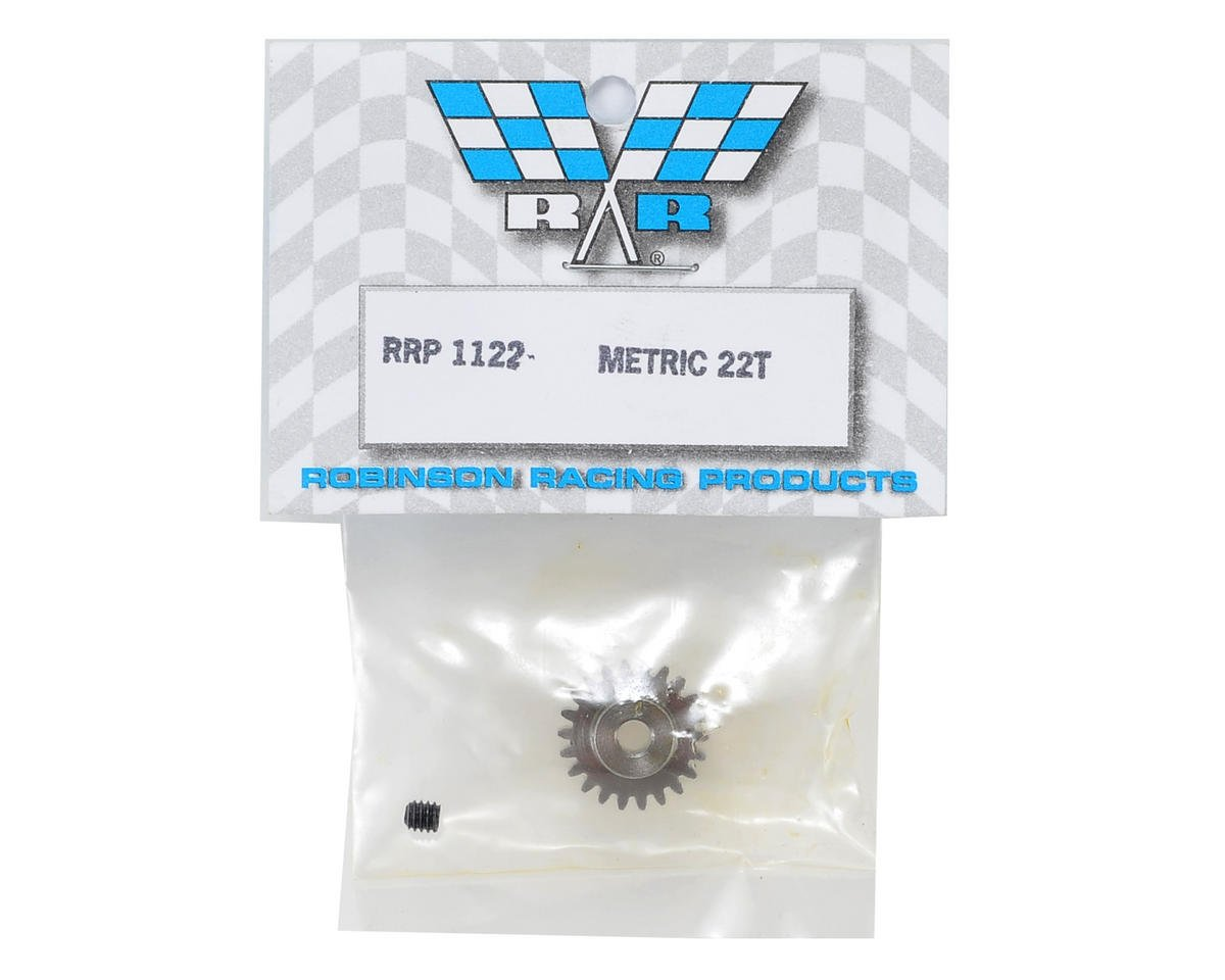 Robinson Racing Mod 0.6 Metric Pinion Gear (22T)