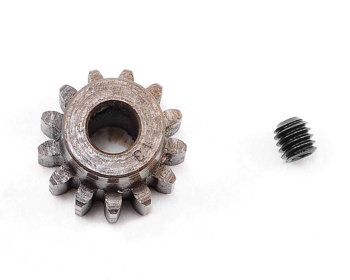 Extra Hard Steel Mod1 Pinion Gear w/5mm Bore (13T) by Robinson Racing