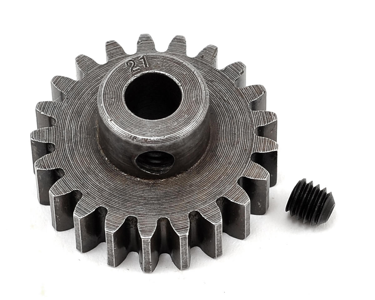 Robinson Racing Extra Hard Steel Mod1 Pinion Gear w/5mm Bore (21T)