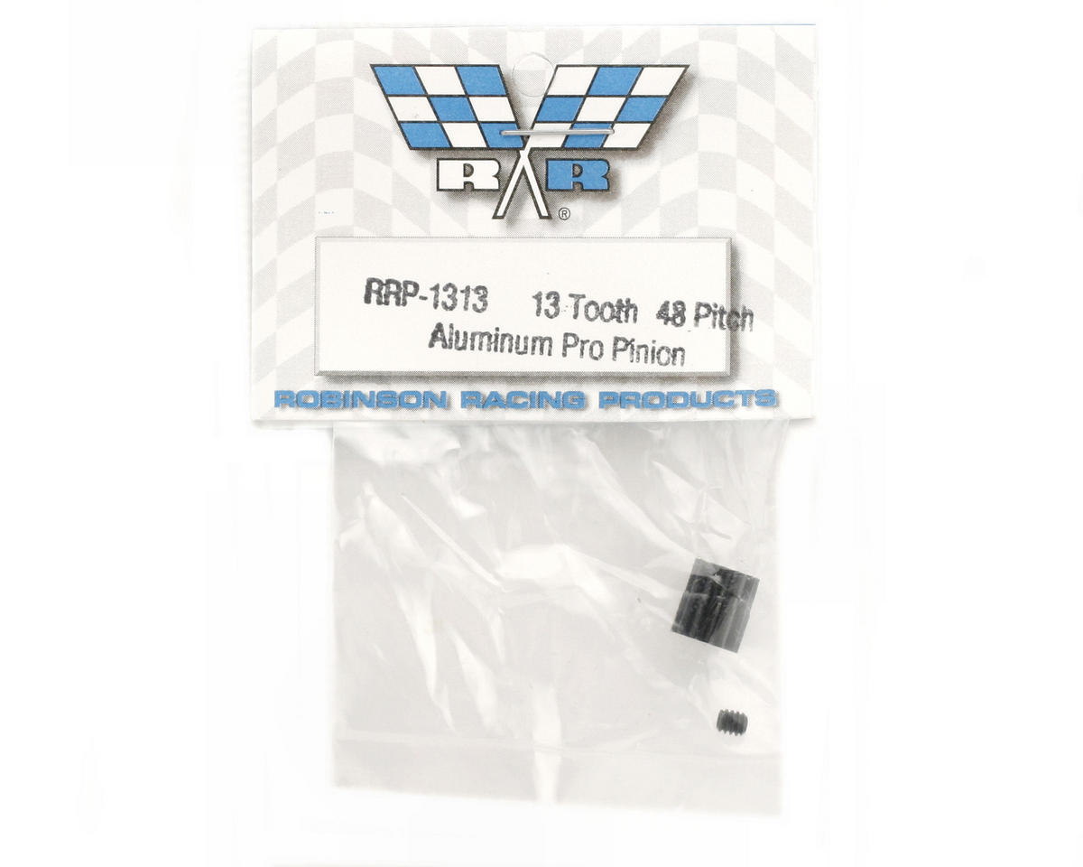 "Robinson Racing ""Aluminum Pro"" 48P Pinion Gear (3.17mm Bore) (13T)"