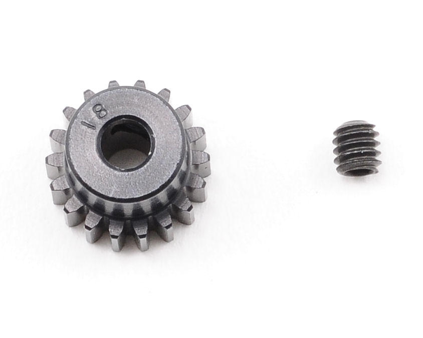 """Aluminum Pro"" 48P Pinion Gear (3.17mm Bore) (18T) by Robinson Racing"