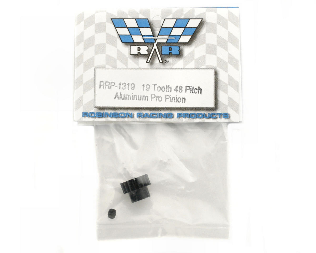 """Aluminum Pro"" 48P Pinion Gear (19T) by Robinson Racing"