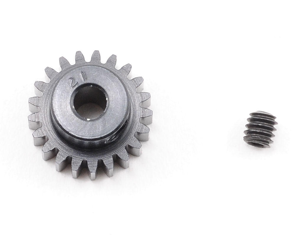 """Aluminum Pro"" 48P Pinion Gear (3.17mm Bore) (21T) by Robinson Racing"