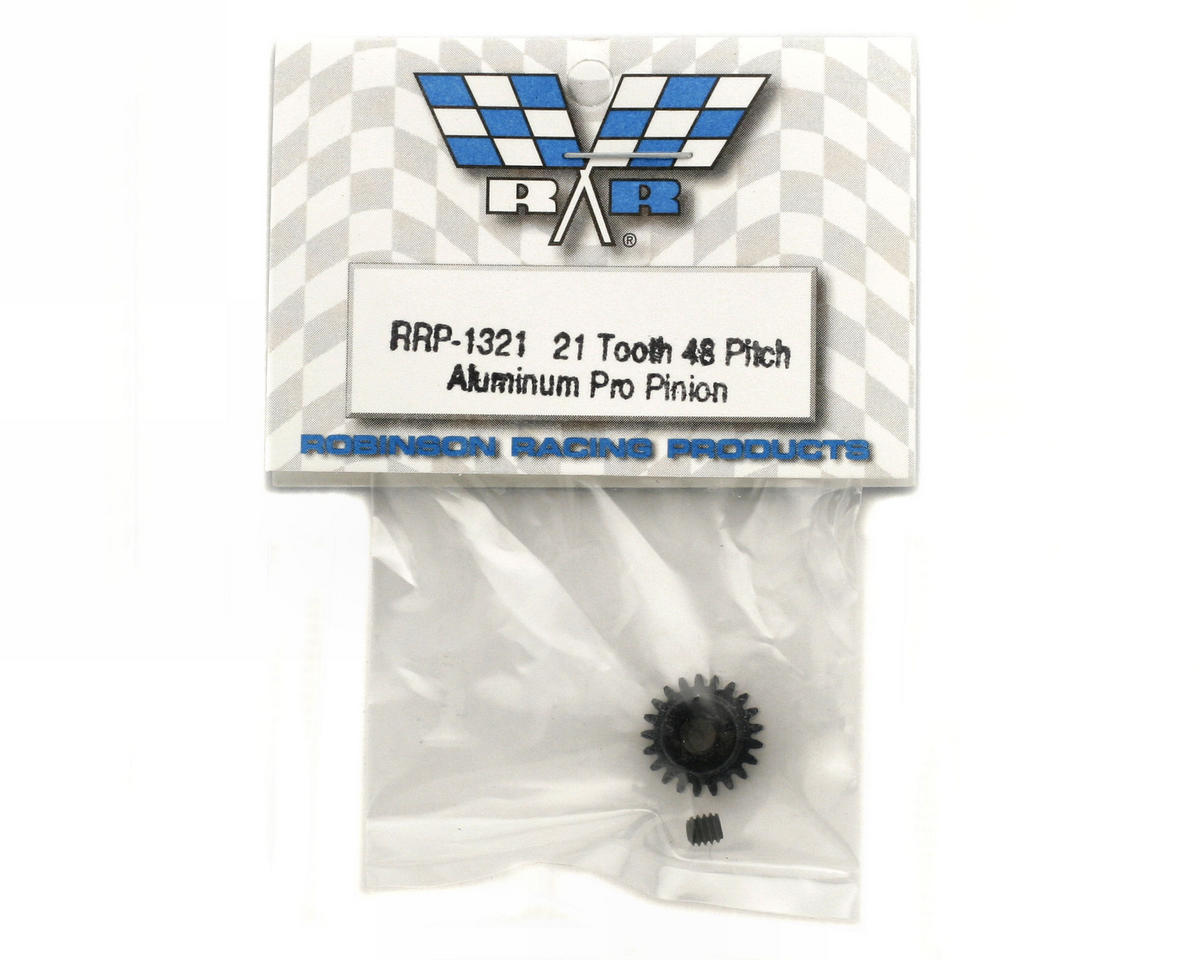 "Image 2 for Robinson Racing ""Aluminum Pro"" 48P Pinion Gear (3.17mm Bore) (21T)"