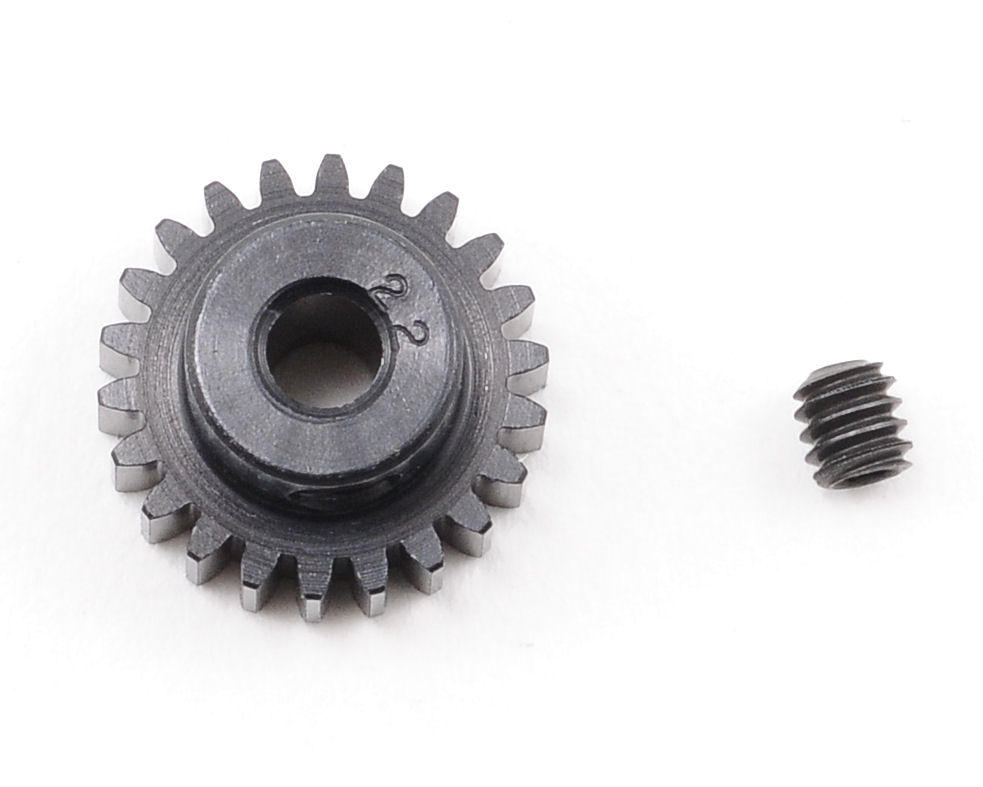 """Aluminum Pro"" 48P Pinion Gear (3.17mm Bore) (22T) by Robinson Racing"