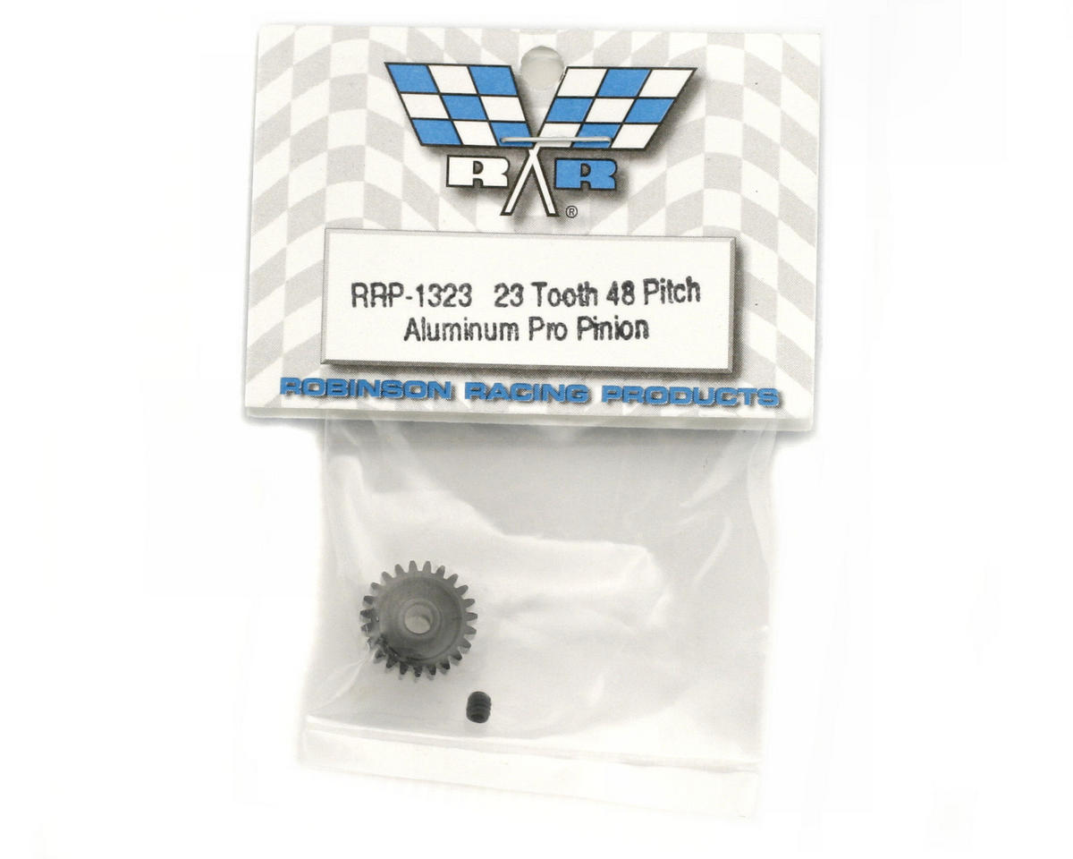 """Aluminum Pro"" 48P Pinion Gear (3.17mm Bore) (23T) by Robinson Racing"