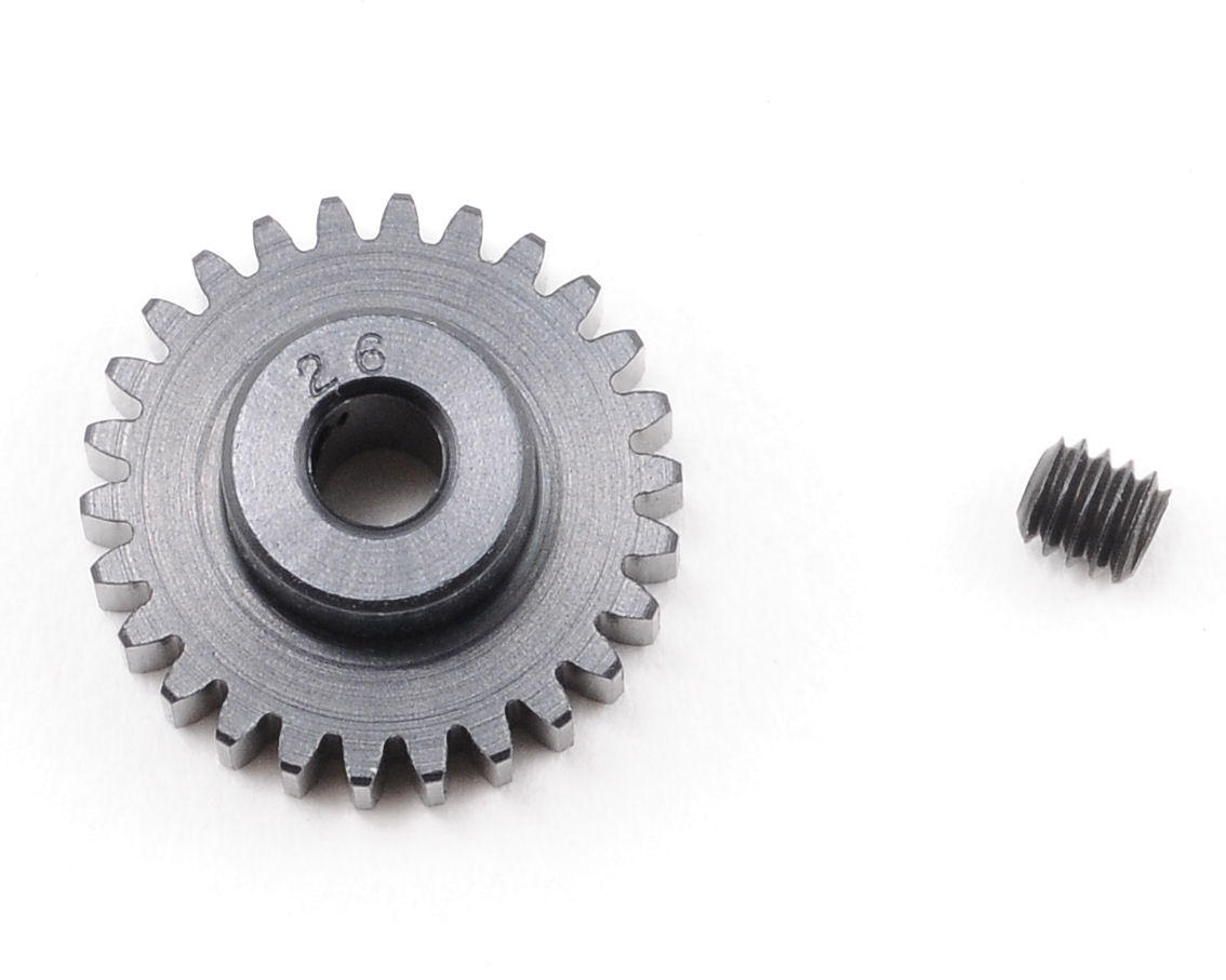"""Aluminum Pro"" 48P Pinion Gear (3.17mm Bore) (26T) by Robinson Racing"
