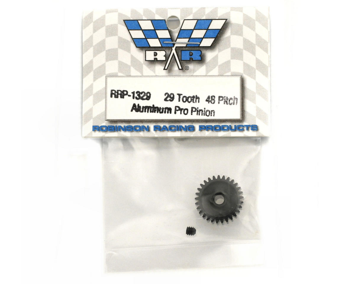 "Image 2 for Robinson Racing ""Aluminum Pro"" 48P Pinion Gear (3.17mm Bore) (29T)"