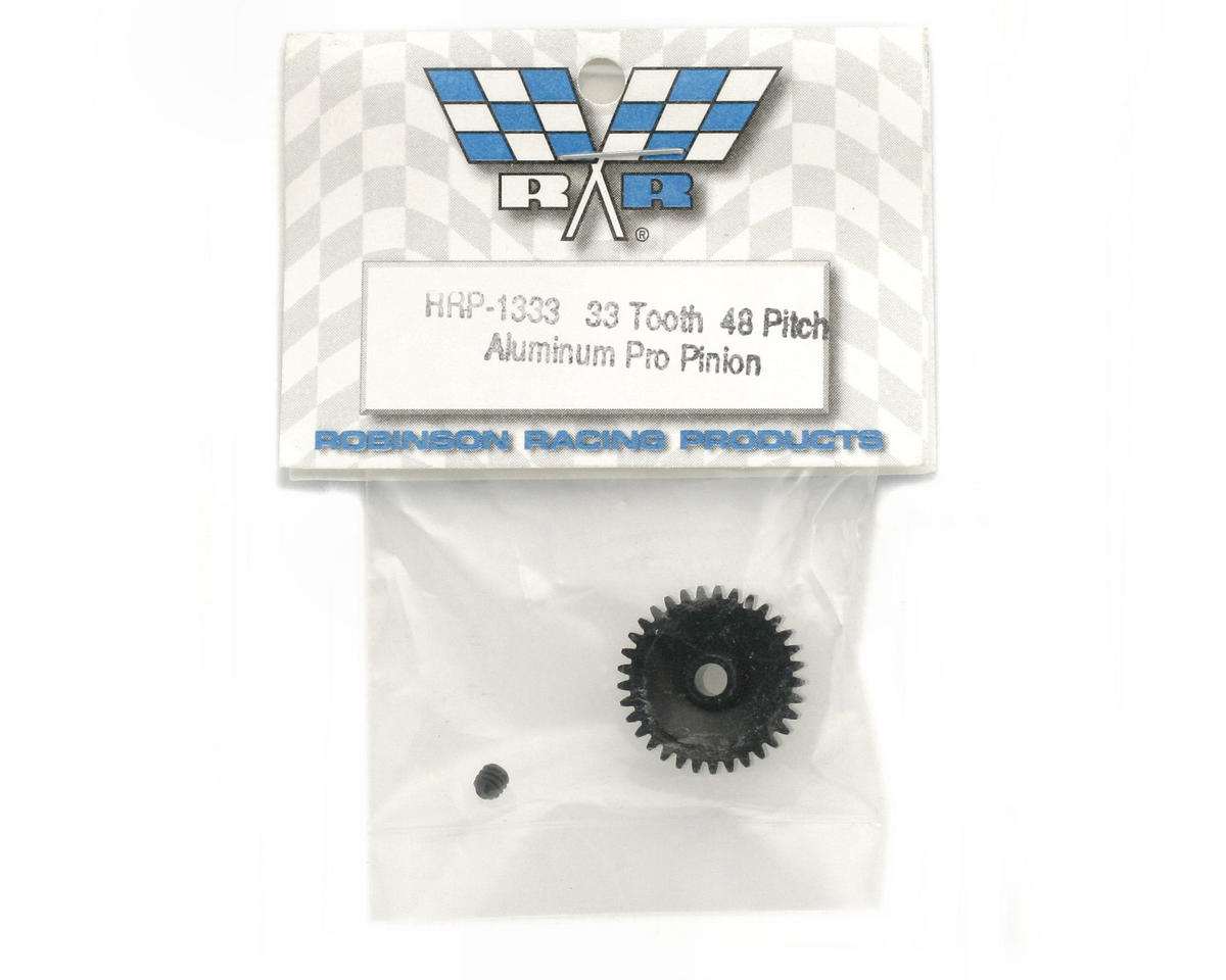 "Robinson Racing ""Aluminum Pro"" 48P Pinion Gear (3.17mm Bore) (33T)"