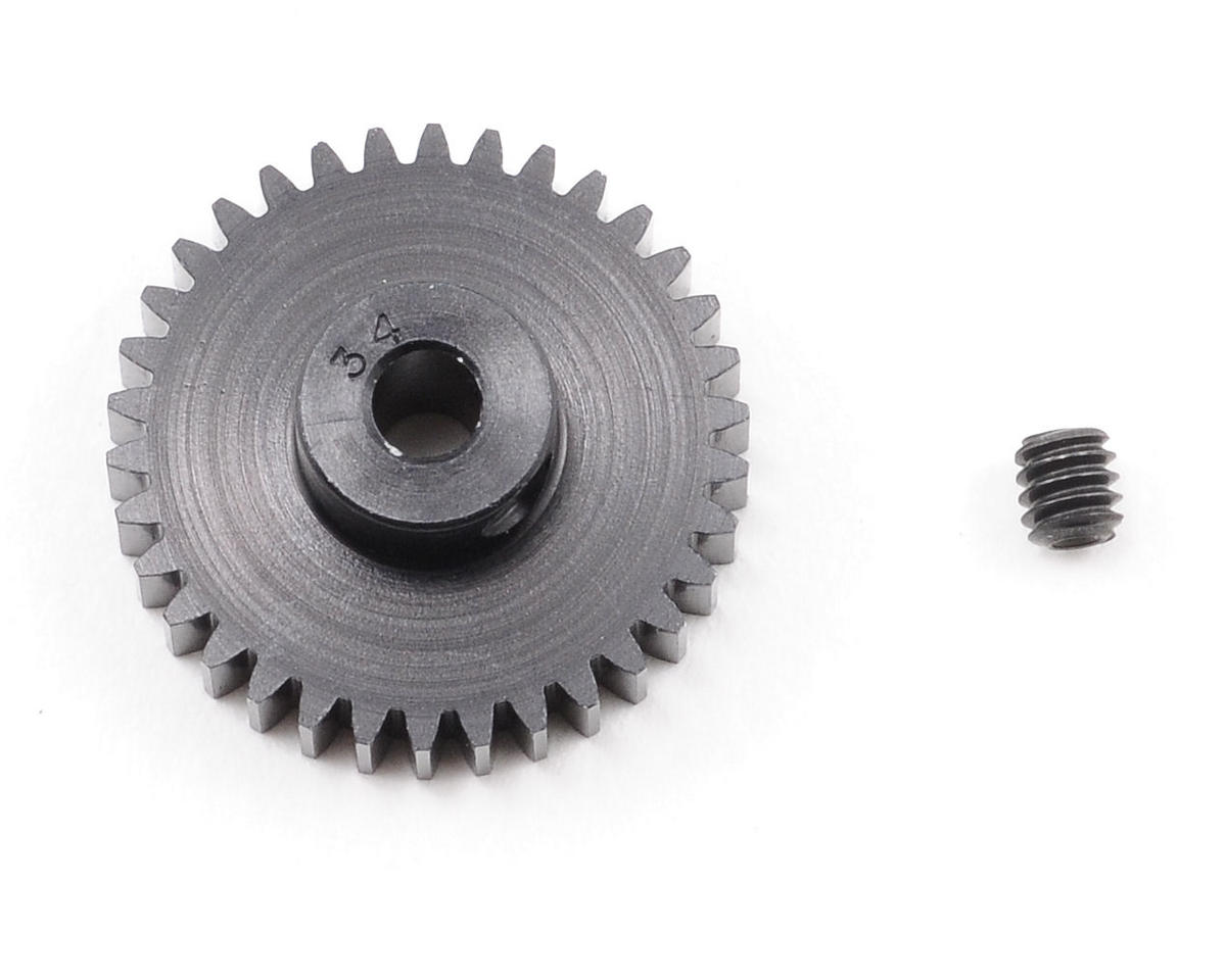 "Robinson Racing ""Aluminum Pro"" 48P Pinion Gear (3.17mm Bore) (34T)"