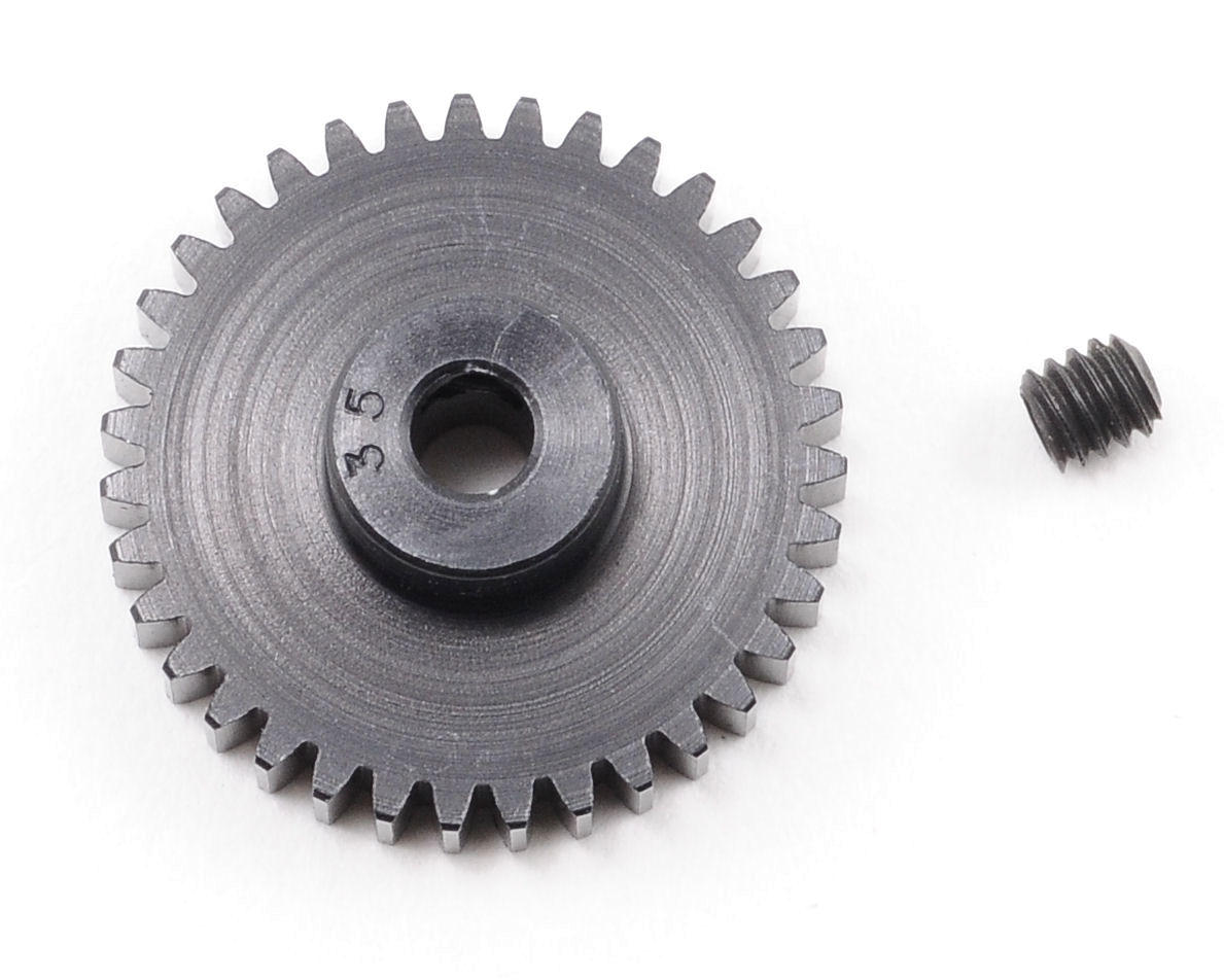 """Aluminum Pro"" 48P Pinion Gear (3.17mm Bore) (35T) by Robinson Racing"