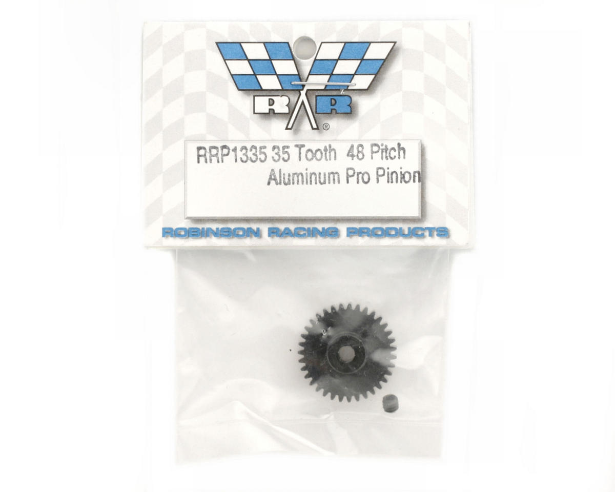 "Robinson Racing ""Aluminum Pro"" 48P Pinion Gear (3.17mm Bore) (35T)"