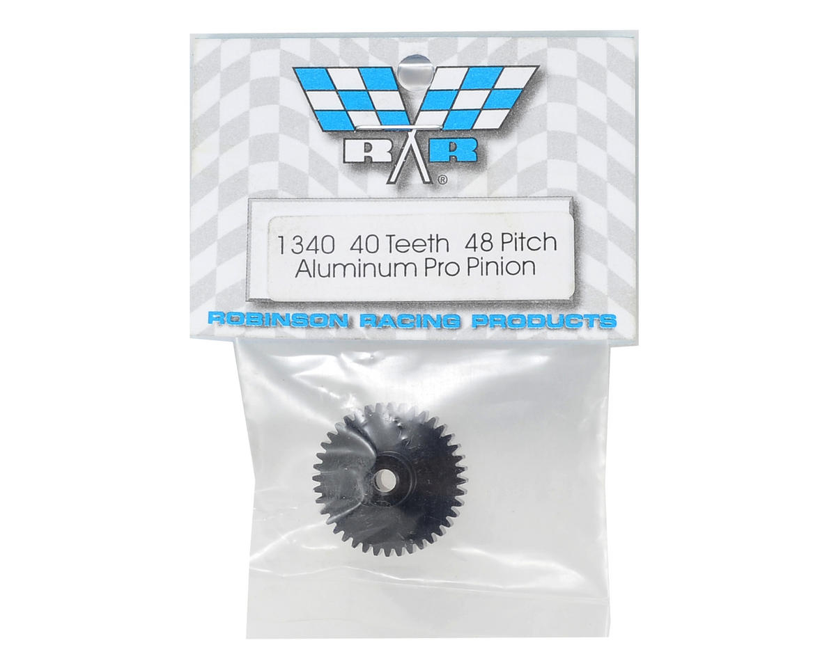 "Robinson Racing ""Aluminum Pro"" 48P Pinion Gear (3.17mm Bore) (40T)"