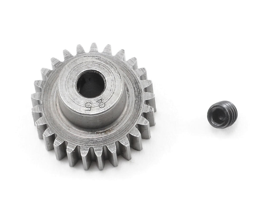 "Super Hard ""Absolute"" 48P Steel Pinion Gear (25T) by Robinson Racing"