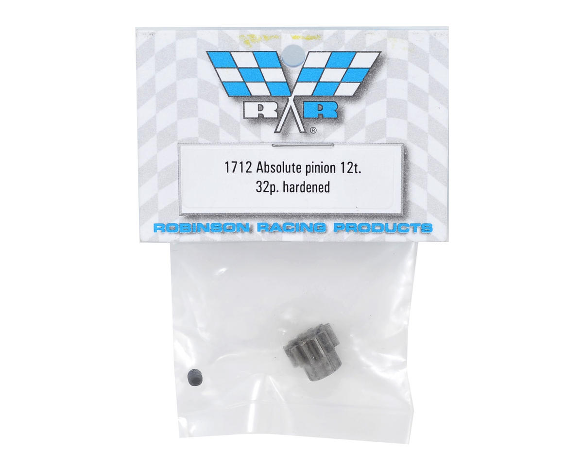 Robinson Racing Absolute 32P Hardened Pinion Gear (12T)
