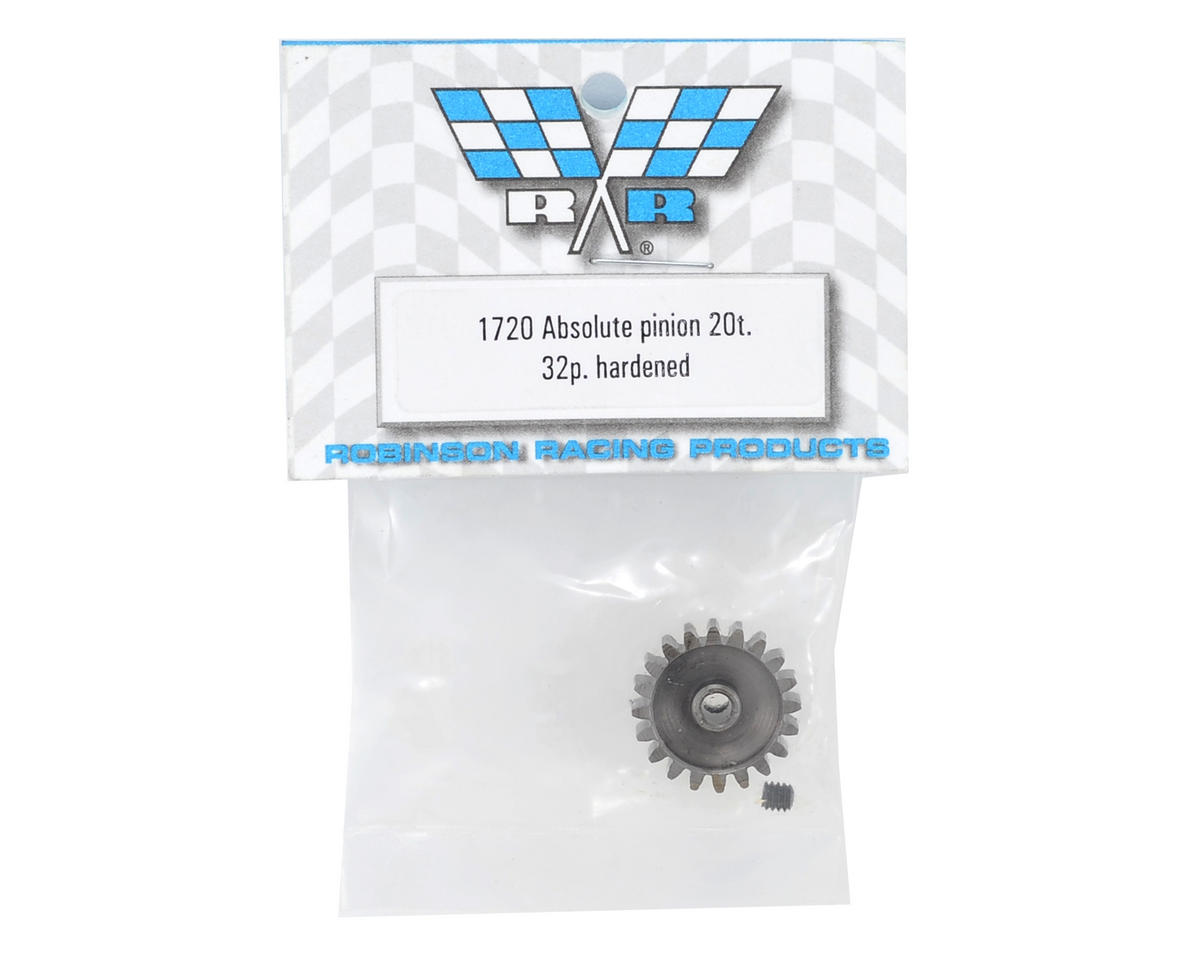 Absolute 32P Hardened Pinion Gear (20T) by Robinson Racing