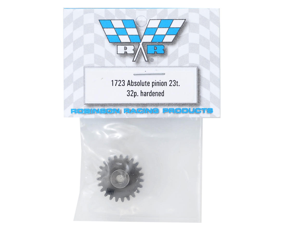 Absolute 32P Hardened Pinion Gear (23T) by Robinson Racing