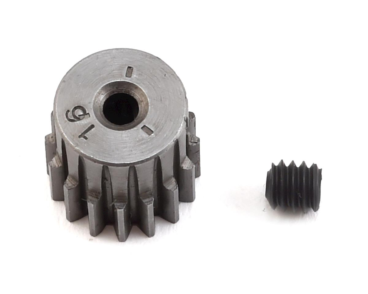 Hard Blackened Steel .5 Mod Mini Pinion w/2mm Bore (16T) by Robinson Racing