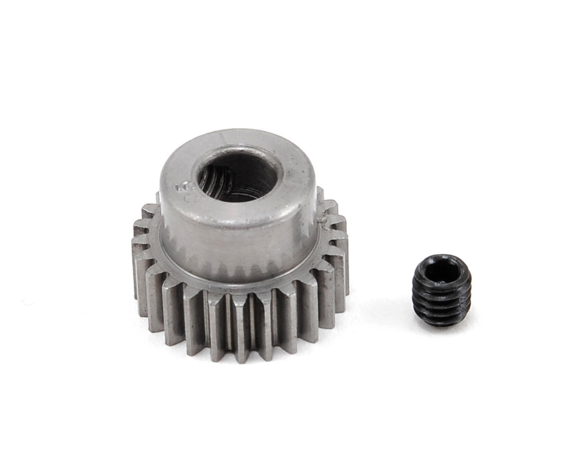 48P Machined Pinion Gear w/5mm Bore (25T) by Robinson Racing