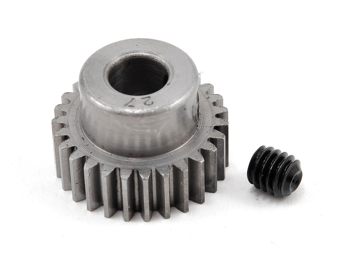 48P Machined Pinion Gear (5mm Bore) (27T) by Robinson Racing