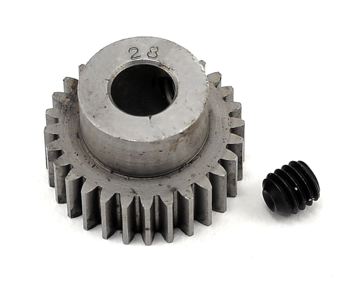 Robinson Racing 48P Machined Pinion Gear w/5mm Bore (28T)