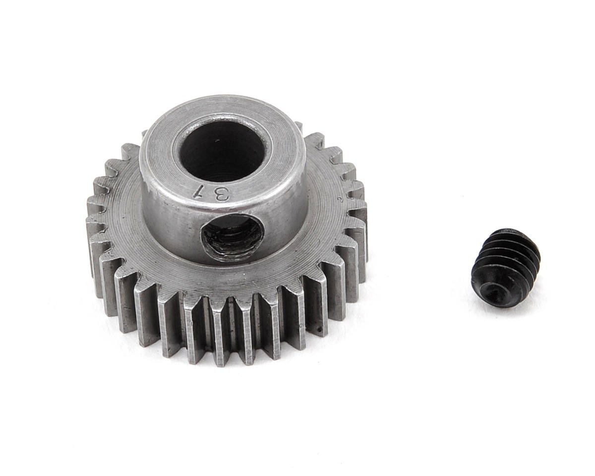 48P Machined Pinion Gear (5mm Bore) (31T) by Robinson Racing