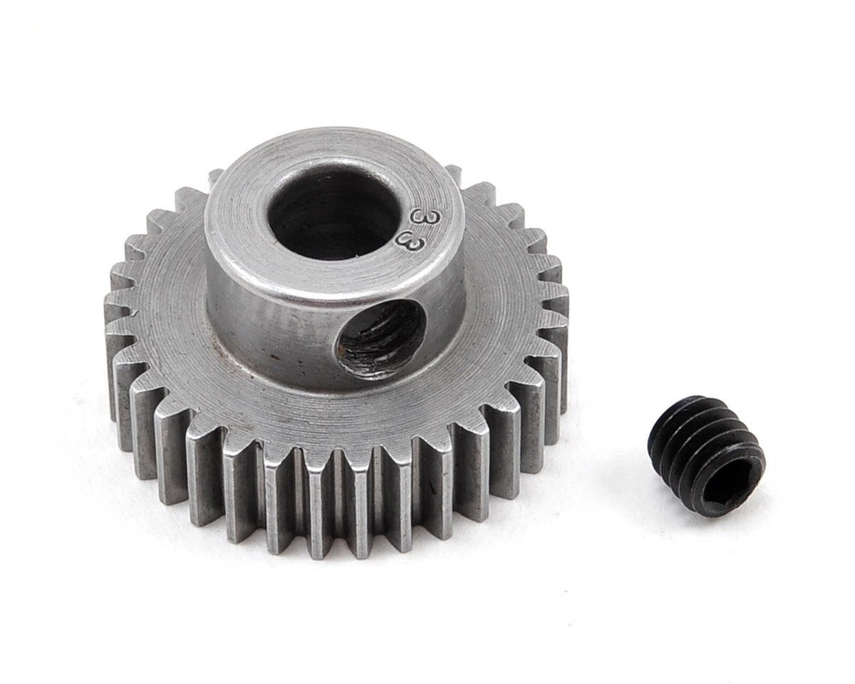 48P Machined Pinion Gear (5mm Bore) (33T) by Robinson Racing