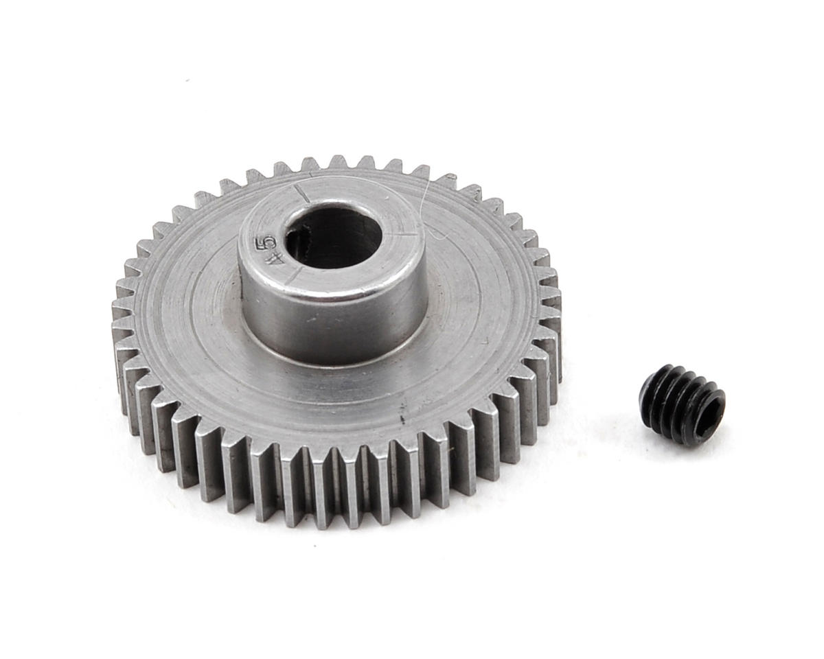 48P Machined Pinion Gear (5mm Bore) (45T) by Robinson Racing