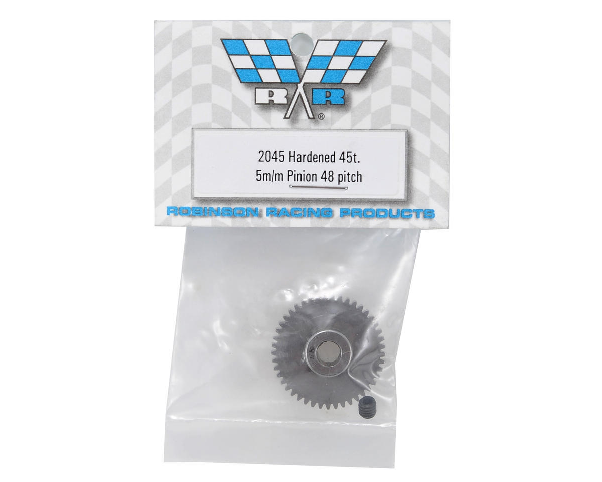 Robinson Racing 48P Machined Pinion Gear (5mm Bore) (45T)
