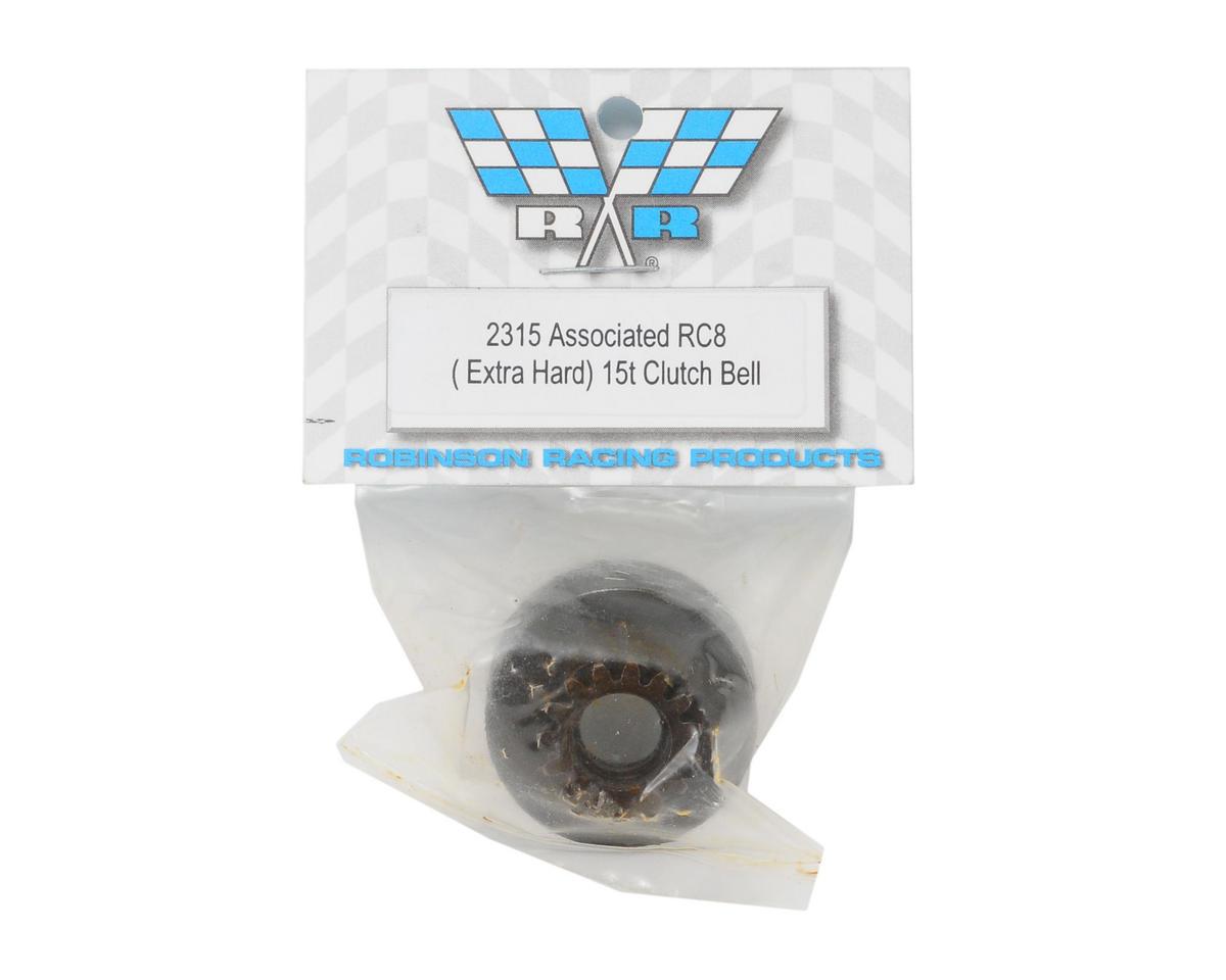 Robinson Racing Associated RC8 X/Hard Steel Clutch Bell (15T)