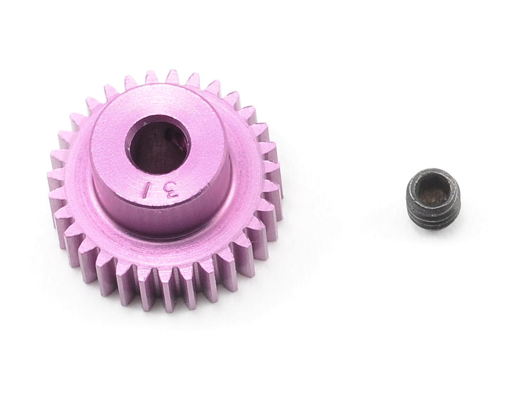 Robinson Racing 64P SuperLite Purple Pinion Gear (31T)