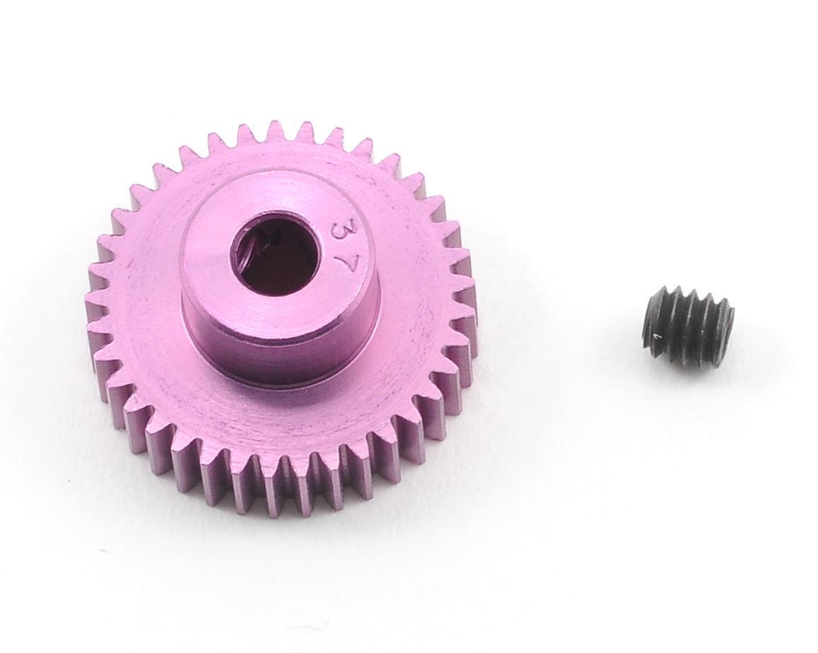 Robinson Racing 64P SuperLite Purple Pinion Gear (37T)