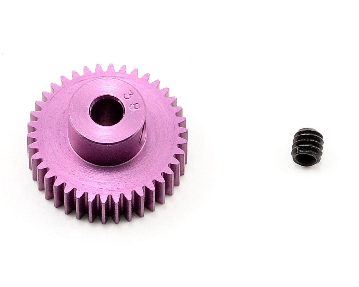 Robinson Racing 64P SuperLite Purple Pinion Gear (38T)