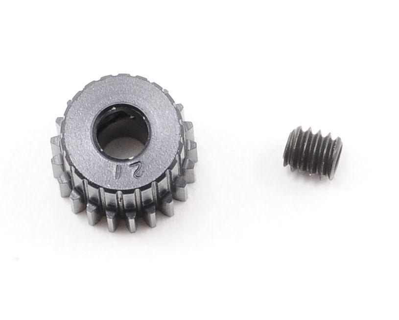 """Aluminum Pro"" 64P Pinion Gear (21T) by Robinson Racing"