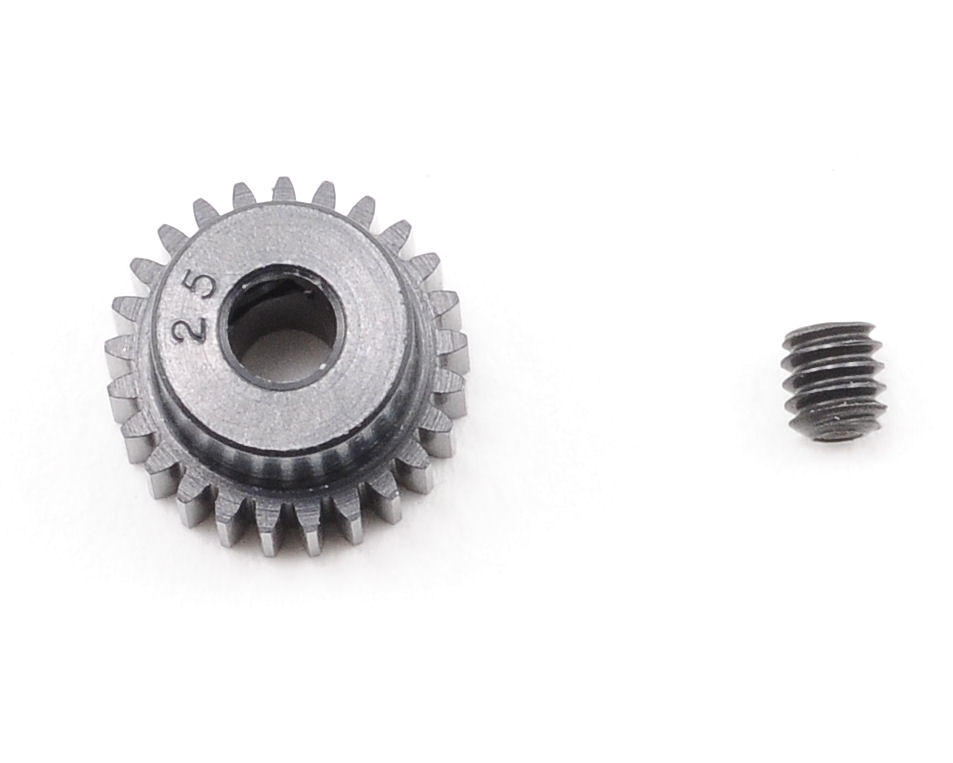 """Aluminum Pro"" 64P Pinion Gear (25T) by Robinson Racing"