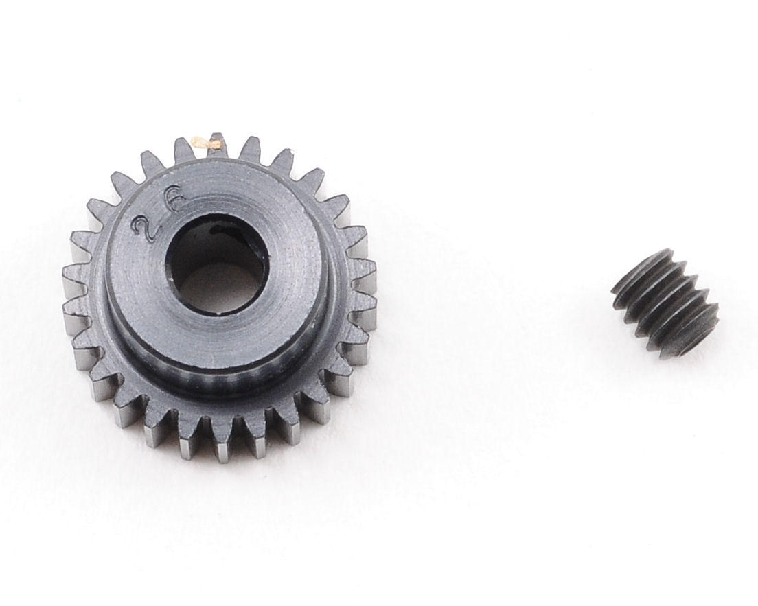 """""""Aluminum Pro"""" 64P Pinion Gear (26T) by Robinson Racing"""