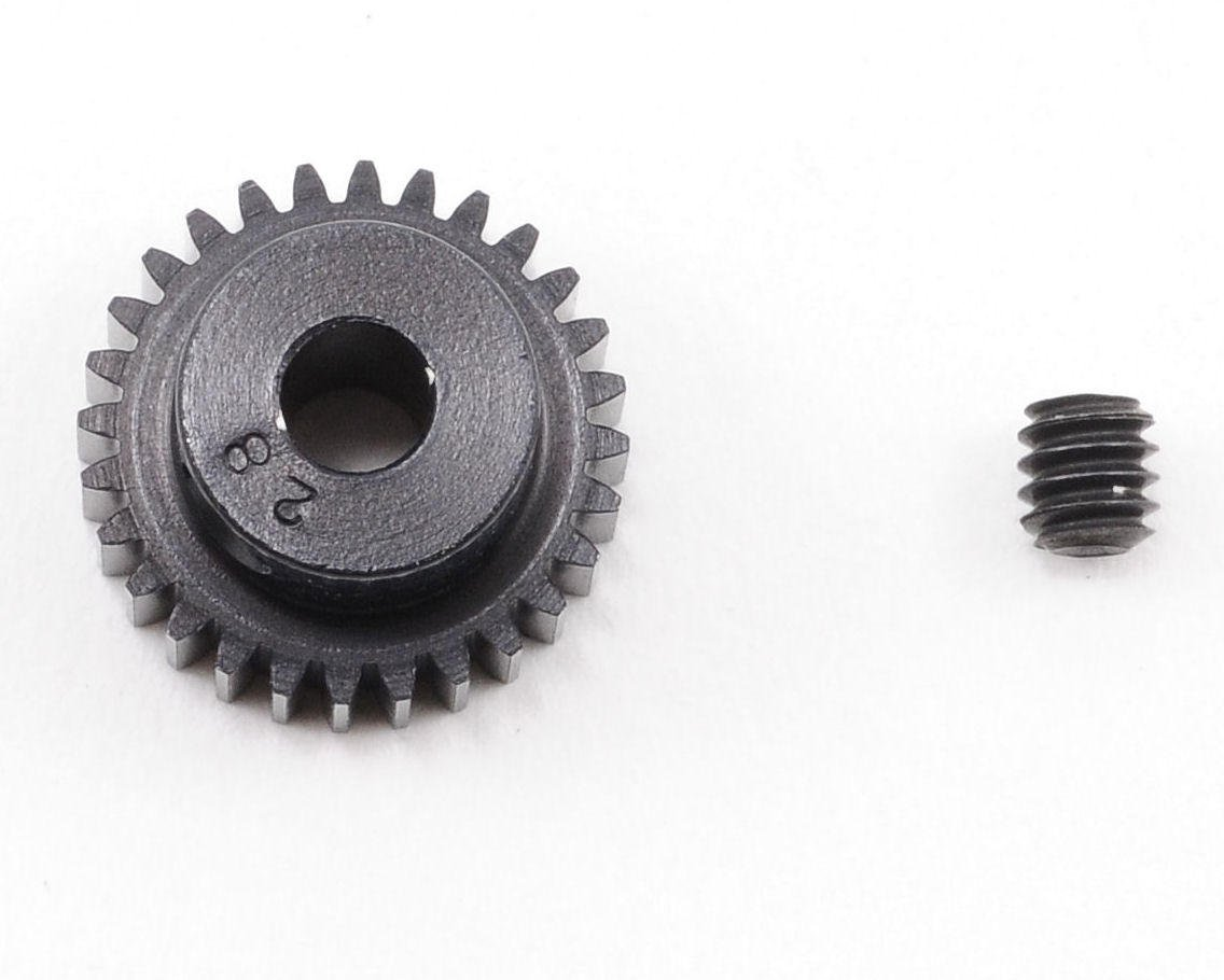 """Aluminum Pro"" 64P Pinion Gear (28T) by Robinson Racing"