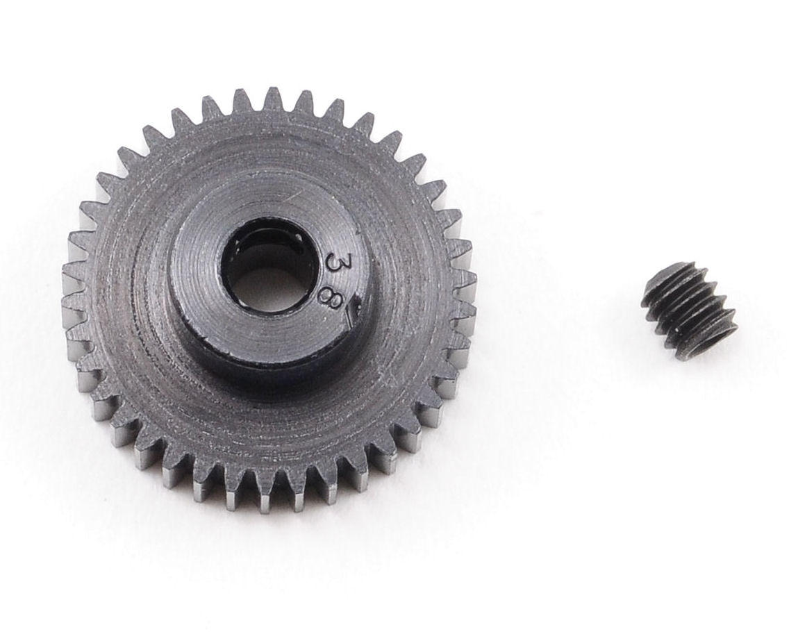 """Aluminum Pro"" 64P Pinion Gear (38T) by Robinson Racing"