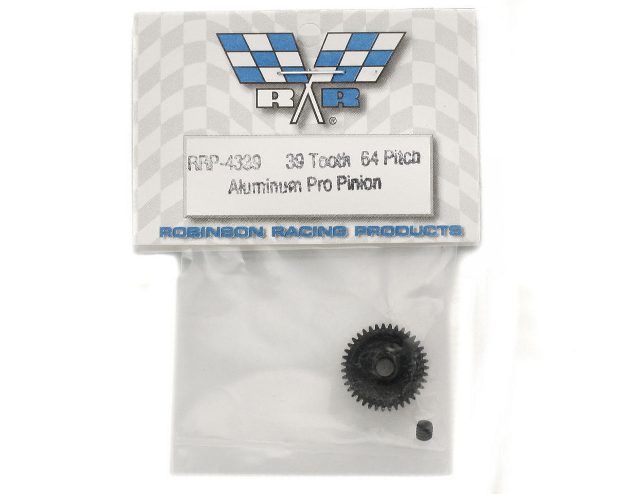 "Image 2 for Robinson Racing ""Aluminum Pro"" 64P Pinion Gear (39T)"