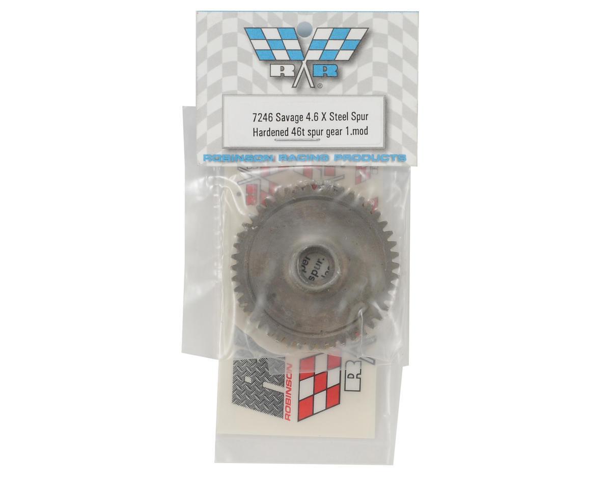 Hard Steel Spur Gear (46T) by Robinson Racing