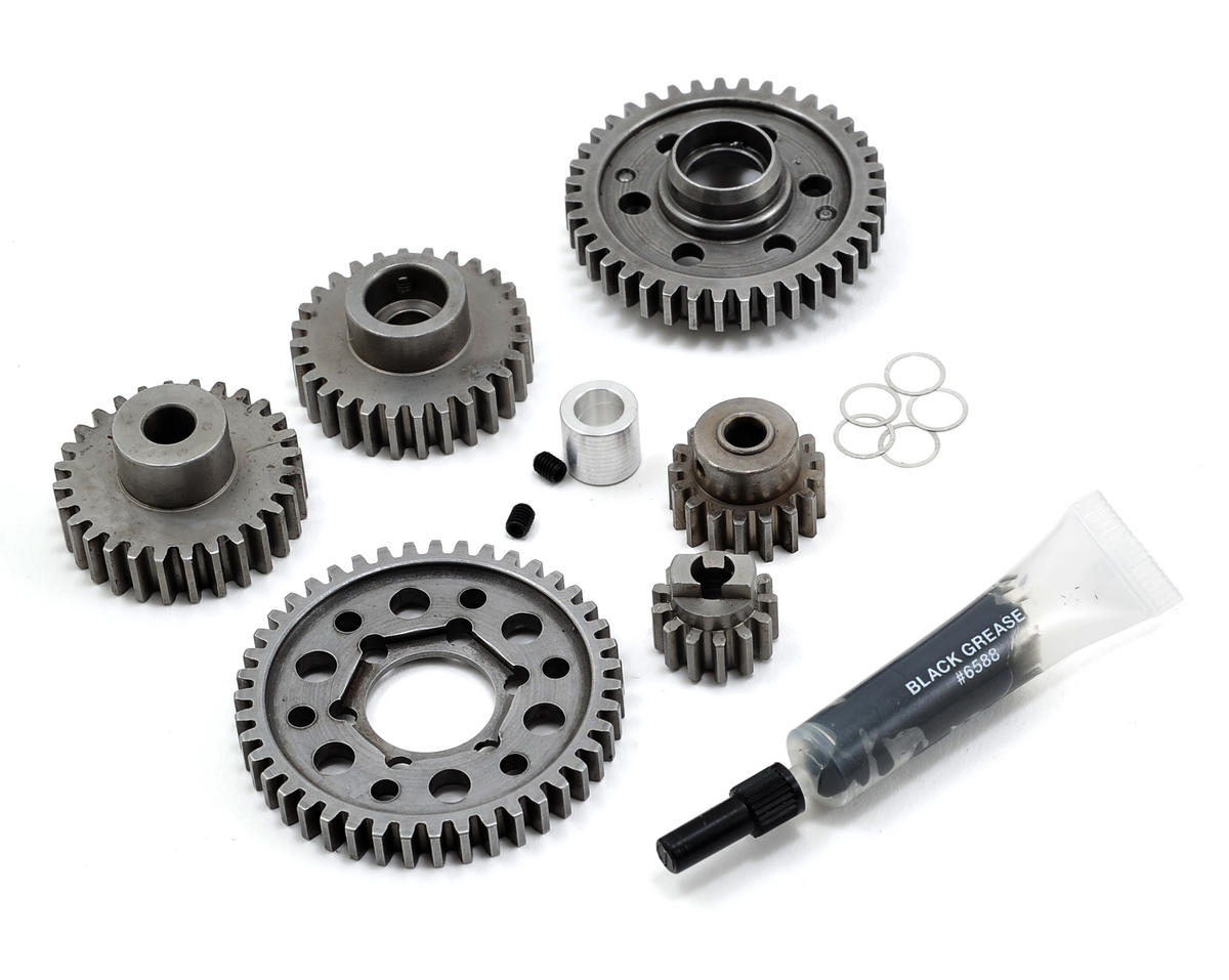 Robinson Racing Steel Forward Only Gear Kit (Standard Ratio) (3.3 Only) (Traxxas Revo)