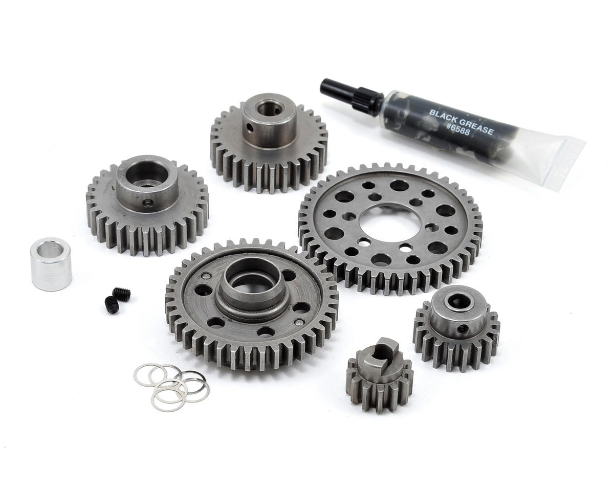 Robinson Racing Steel Forward Only Gear Kit (Wide Ratio) (3.3 Only) (Traxxas Revo)