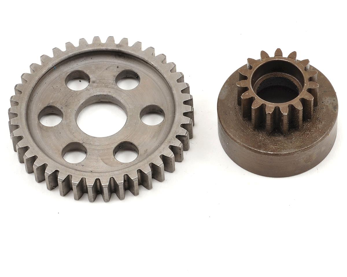 Extra-Hard 15T Clutch Bell & 38T Spur by Robinson Racing