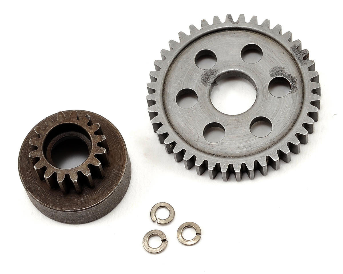 Robinson Racing 40T Spur & 16T Clutch Bell: Revo
