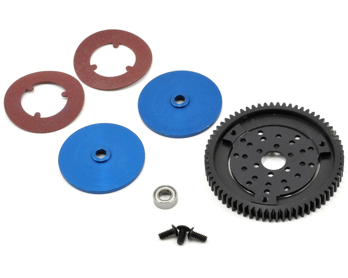 Double Disc Slipper Kit w/Plastic Spur (66T) by Robinson Racing
