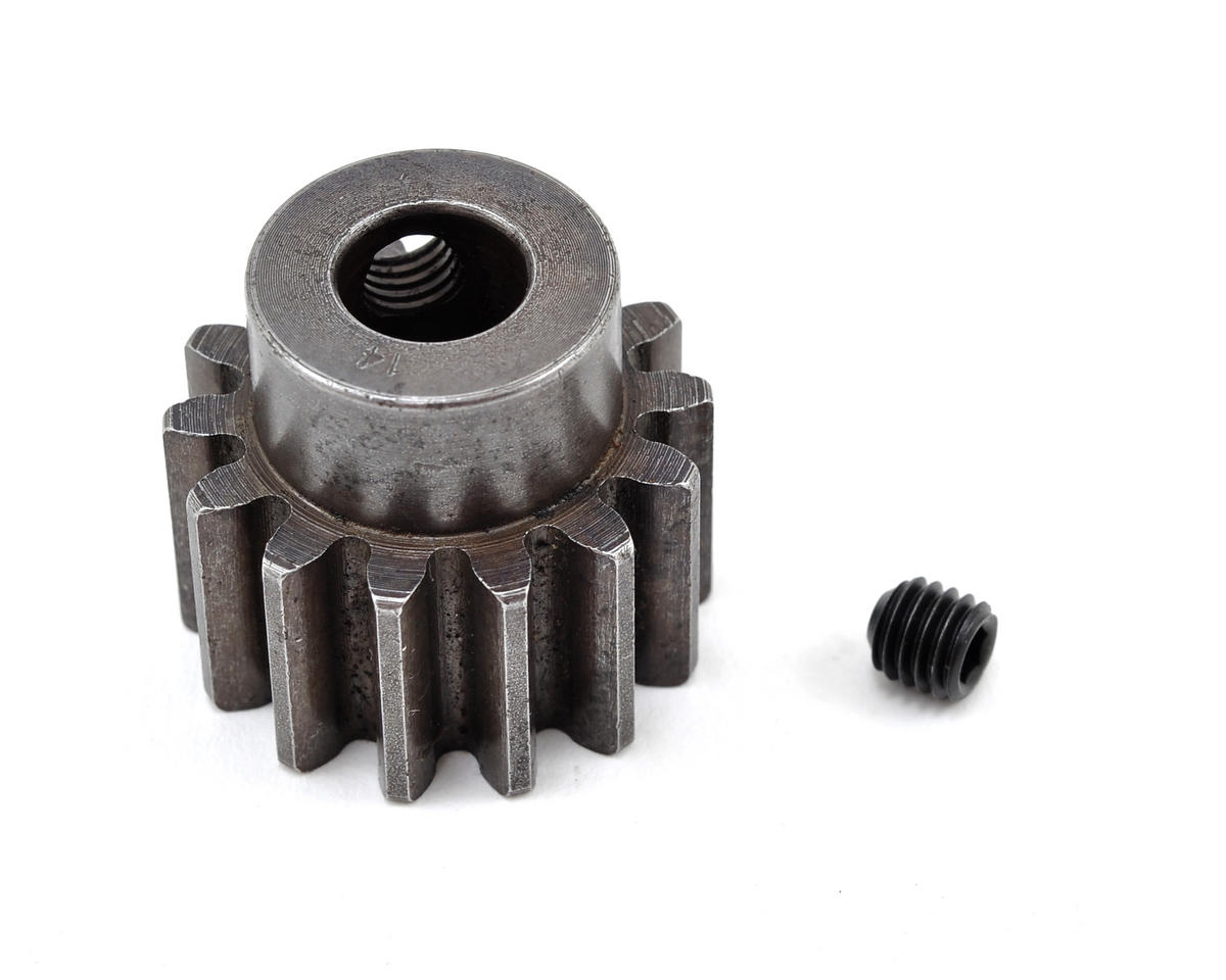 Robinson Racing 8mm Bore Extra Hard Steel Mod 1.5 Pinion Gear (14T)