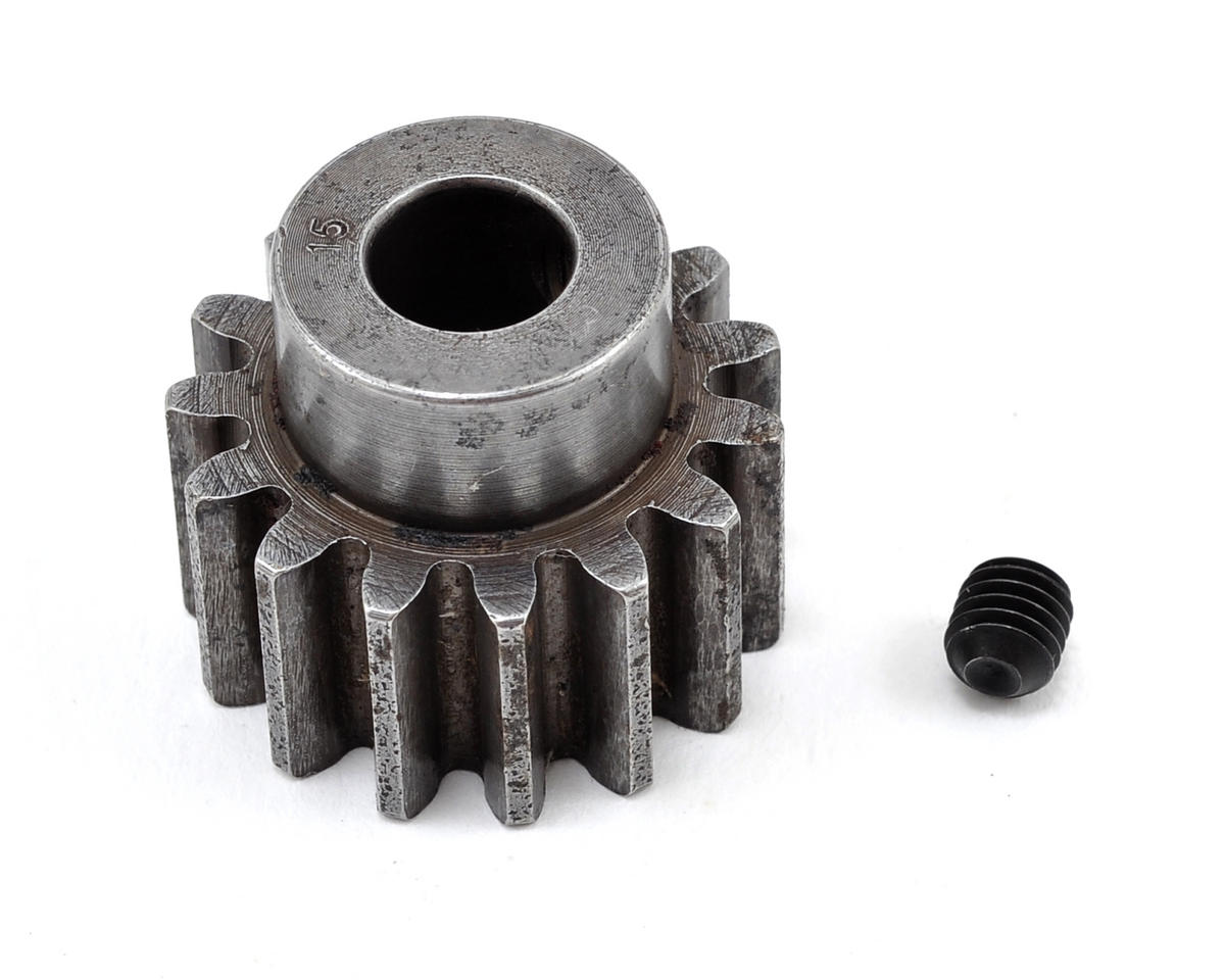 Robinson Racing 8mm Bore Extra Hard Steel Mod 1.5 Pinion Gear (15T)
