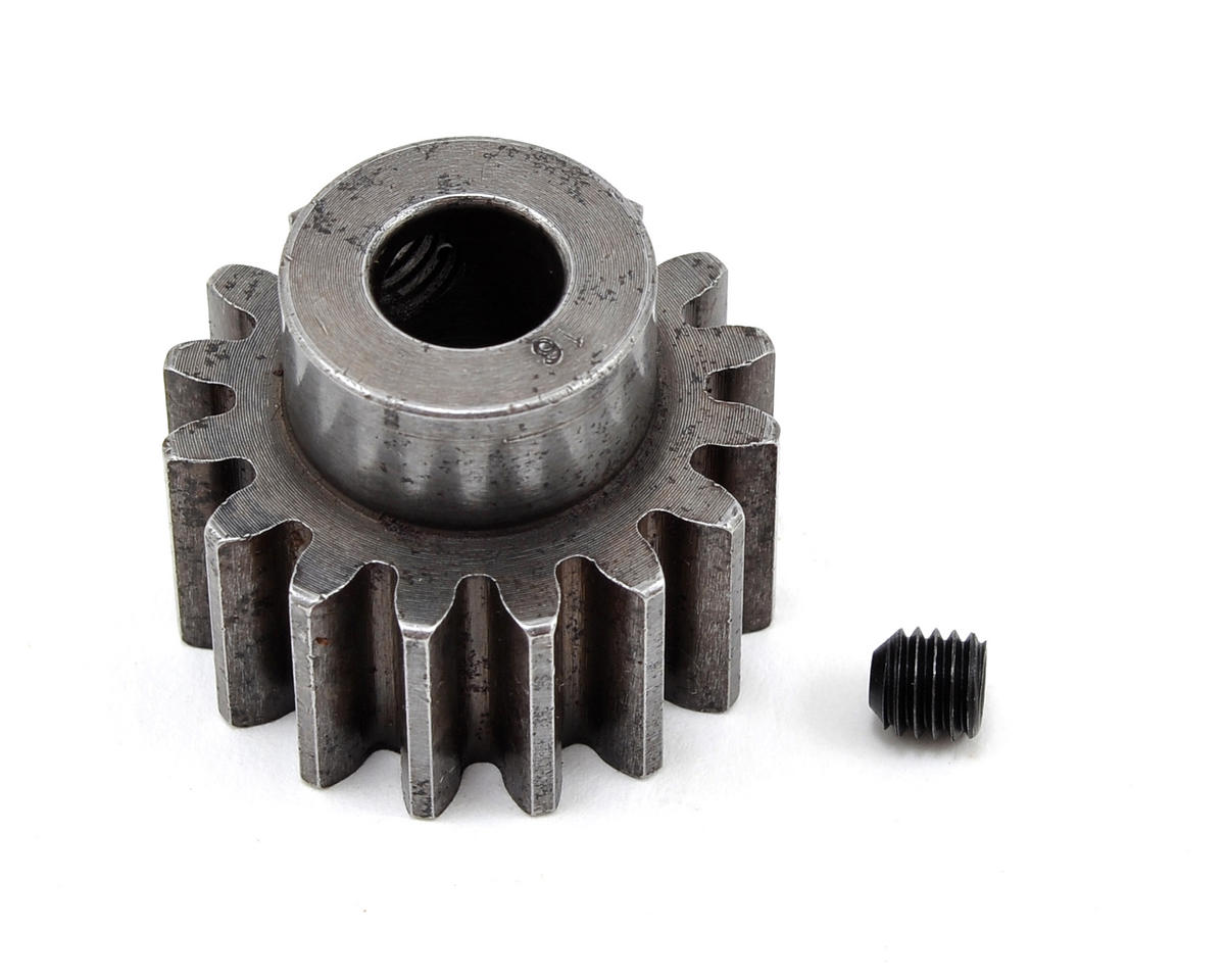 Robinson Racing 8mm Bore Extra Hard Steel Mod 1.5 Pinion Gear (16T)